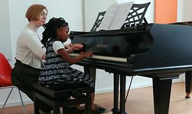 Musikunterricht und Instrumentalunterricht für Schulkinder an der Musikschule Philarmonika, Berlin-Charlottenburg/Wilmersdorf