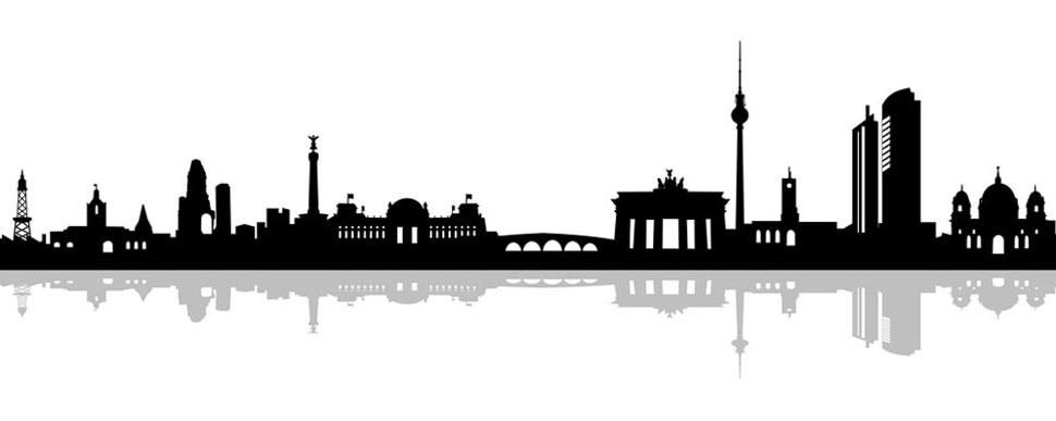 Skyline von Berlin - Musikschule Philharmonika