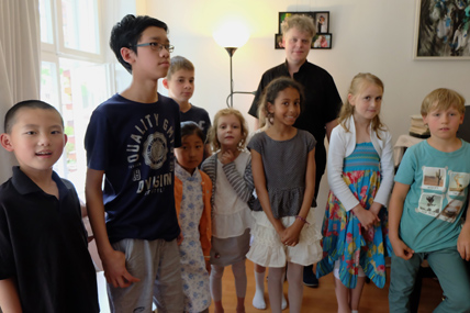 Schüler Klassenvorspiel Klavierschule