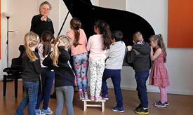 Führungen für Kitas/Kindergärten an der Musikschule Philarmonika, Berlin-Charlottenburg/Wilmersdorf